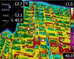 Тепловизионное обследование коттеджей